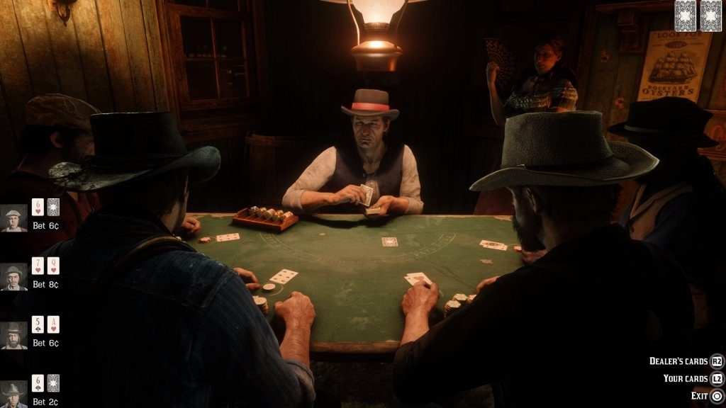 poker red dead redemption 2 1024x576 - Red Dead Redemption 2, come barare a Poker