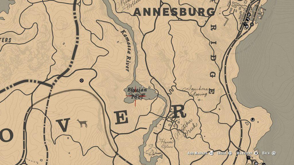 red dead 2 fish perch location 1024x576 - Red Dead Redemption 2 - Guida ai pesci leggendari