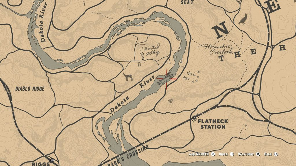 red dead redemption 2 legendary fish location 1 1024x576 - Red Dead Redemption 2 - Guida ai pesci leggendari