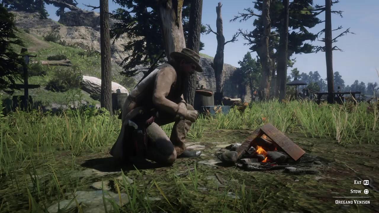 RDR2 Cooking - Red Dead Redemption 2, guida al miglior cibo