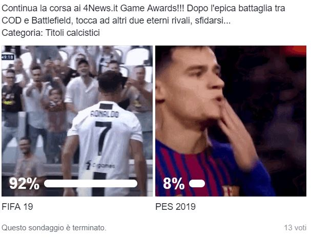 fifa vs pes 4news game awards - 4News Game Awards - God of War si guadagna il titolo di Game of the Year