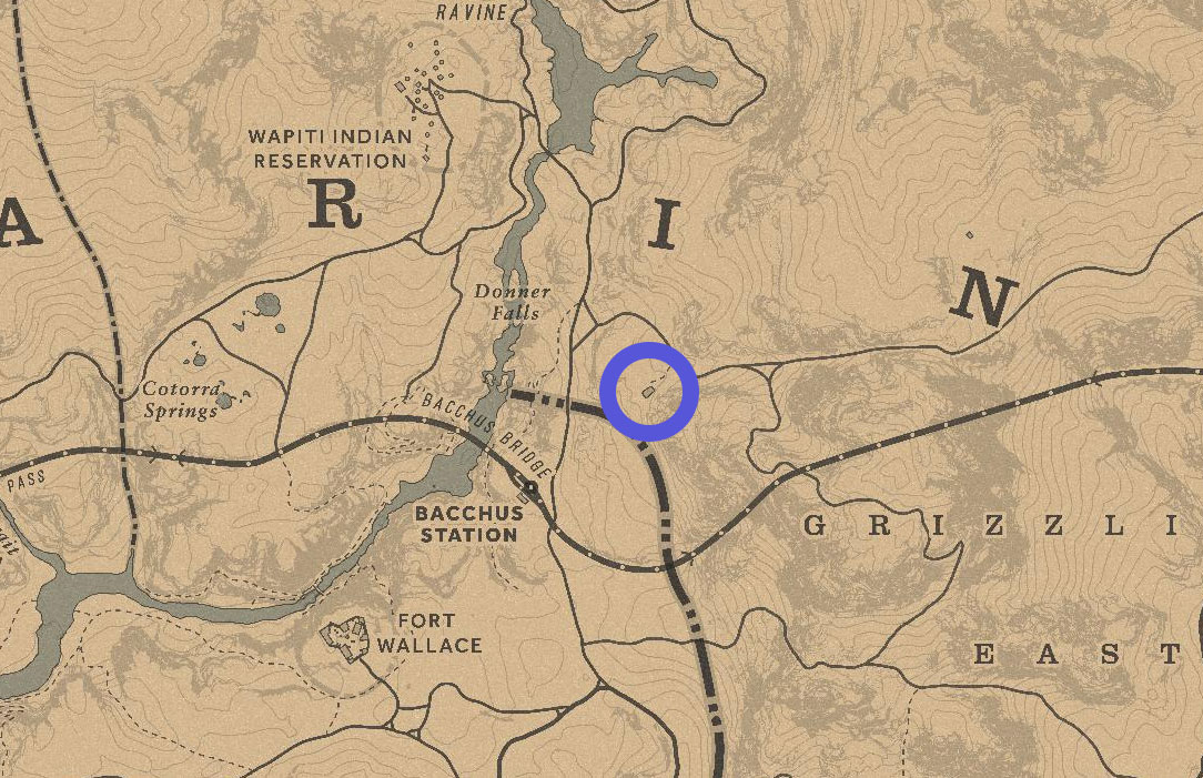 rdr2 arthur morgan grave location map - Red Dead Redemption 2, dove trovare tutte le tombe