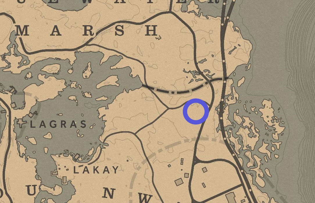 rdr2 lenny summers grave location map - Red Dead Redemption 2, dove trovare tutte le tombe