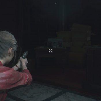 """RE2 Hiding Place 13 350x350 - Resident Evil 2 - Guida: dove trovare il rullino """"Nascondiglio"""""""