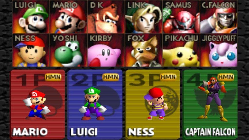 roster super smash bros 1024x576 - Back 2 The Past - Super Smash Bros: Mario, Link e compagnia se le danno di santa ragione