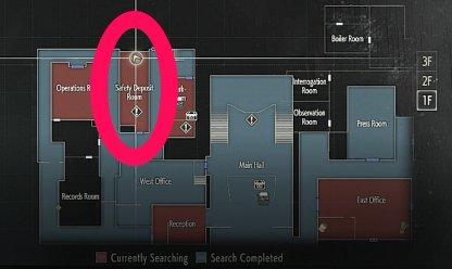 safety deposit w 870 resident evil 2 - Resident Evil 2 - Guida alle armi e dove trovarle