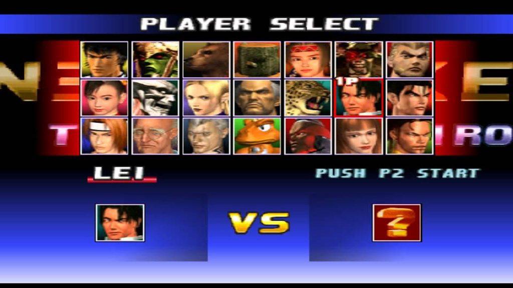 tekken 3 roster 1024x576 - Back 2 The Past - Tekken 3