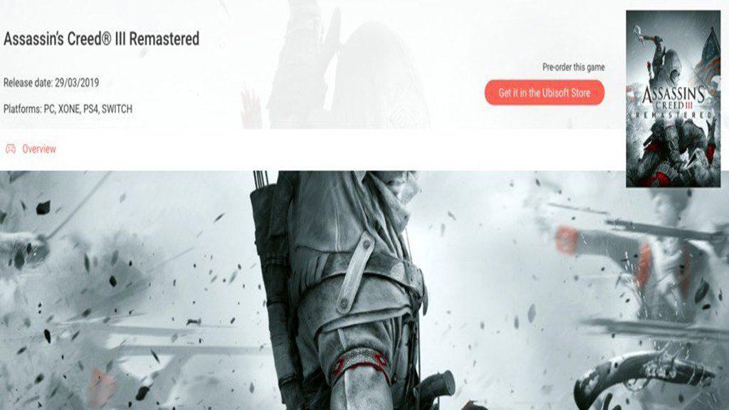 screenshot ubisoft club assassins creed iii 1024x576 - Assassin's Creed III, a quanto pare la remaster arriverà anche su Switch
