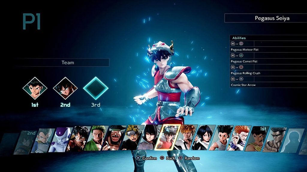 selezione personaggi jump force 1 1024x576 - Jump Force - la nostra recensione
