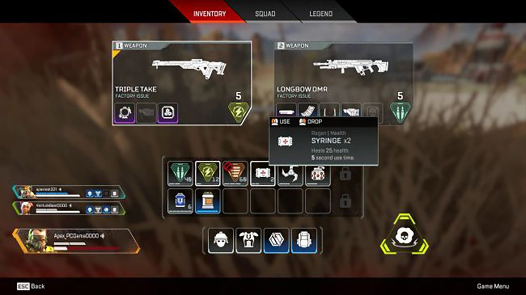 weapons apex legends 1 1024x576 - Apex Legends, i trucchi per diventare i migliori