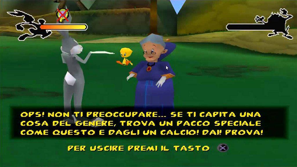 bugs bunny e taz in viaggio nel tempo nonna 1024x576 - Back 2 The Past- Bugs Bunny e Taz in Viaggio nel Tempo