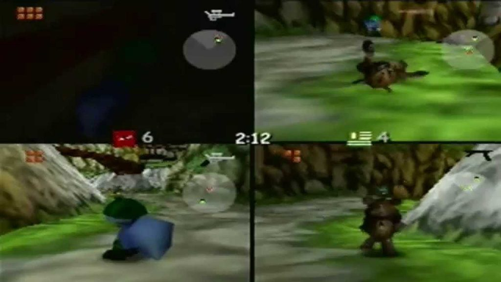 conkers bad fur day multiplayer 1024x576 - Back 2 The Past - Conker's Bad Fur Day