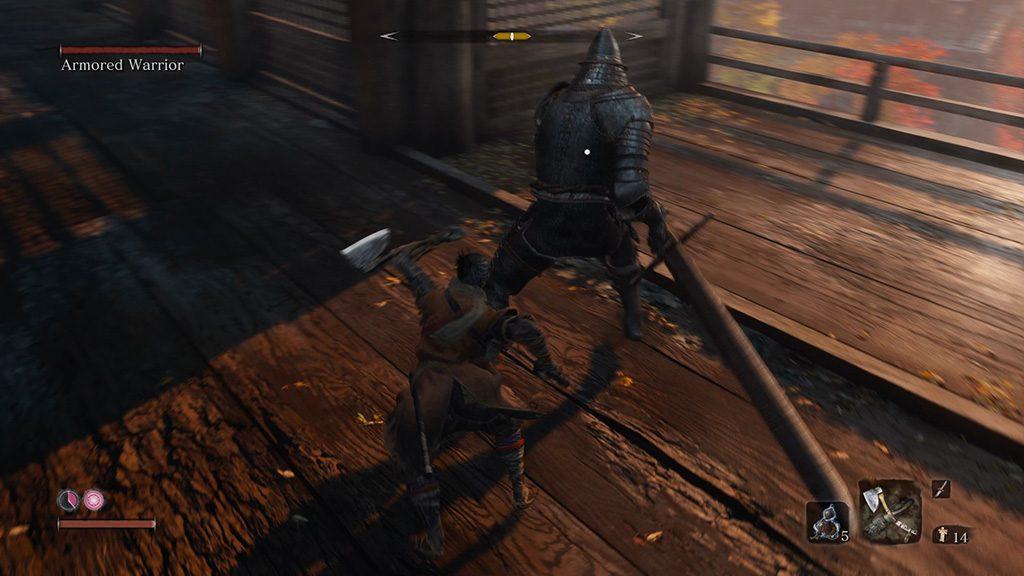 sekiro guerriero corazzato 1024x576 - Sekiro: Shadows Die Twice: Guerriero Corazzato, una sfida epica