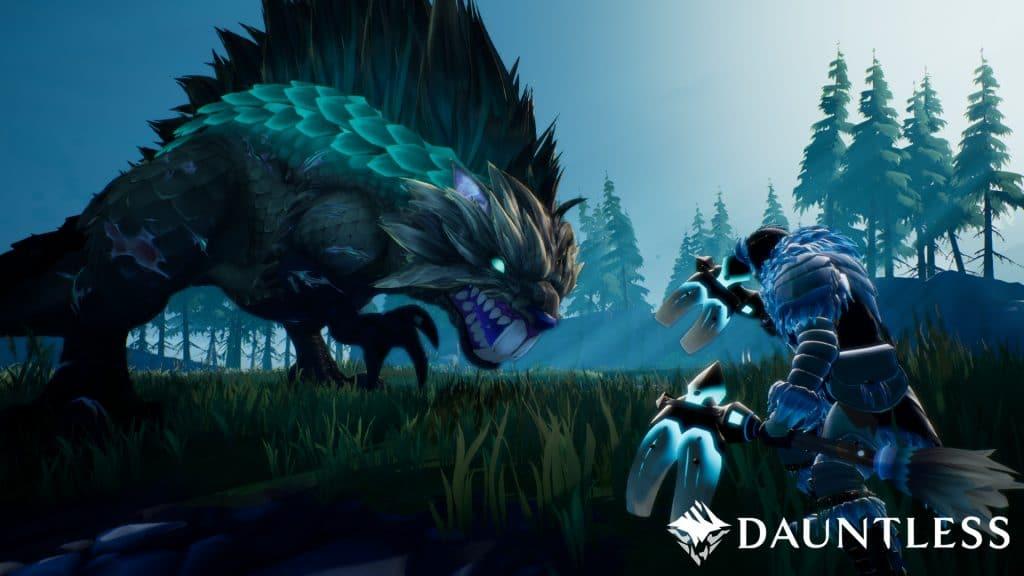 Dauntless Ice Monster