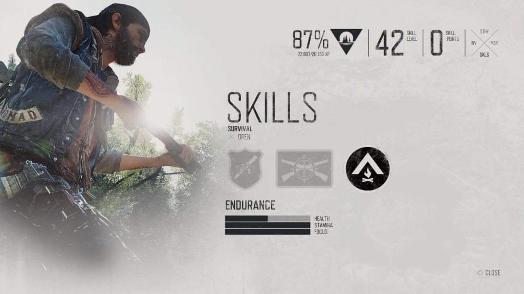 skills days gone 1024x576 - Days Gone, come farmare esperienza velocemente
