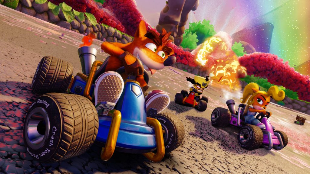 Crash Team Racing Nitro-Fueled Drift
