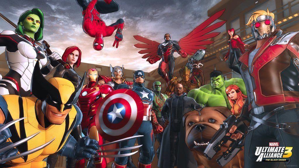 Marvel Ultimate Alliance 3 The Black Order Gruppo 1024x576 - Marvel Ultimate Alliance 3: The Black Order - la nostra recensione