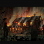 Definitive Gallery Concept Art John s House Fire Back Yard 150x150 - The Walking Dead: The Telltale Definitive Series si mostra nel nuovo trailer