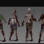 Definitive Gallery Concept Art Zombies Charred 150x150 - The Walking Dead: The Telltale Definitive Series si mostra nel nuovo trailer