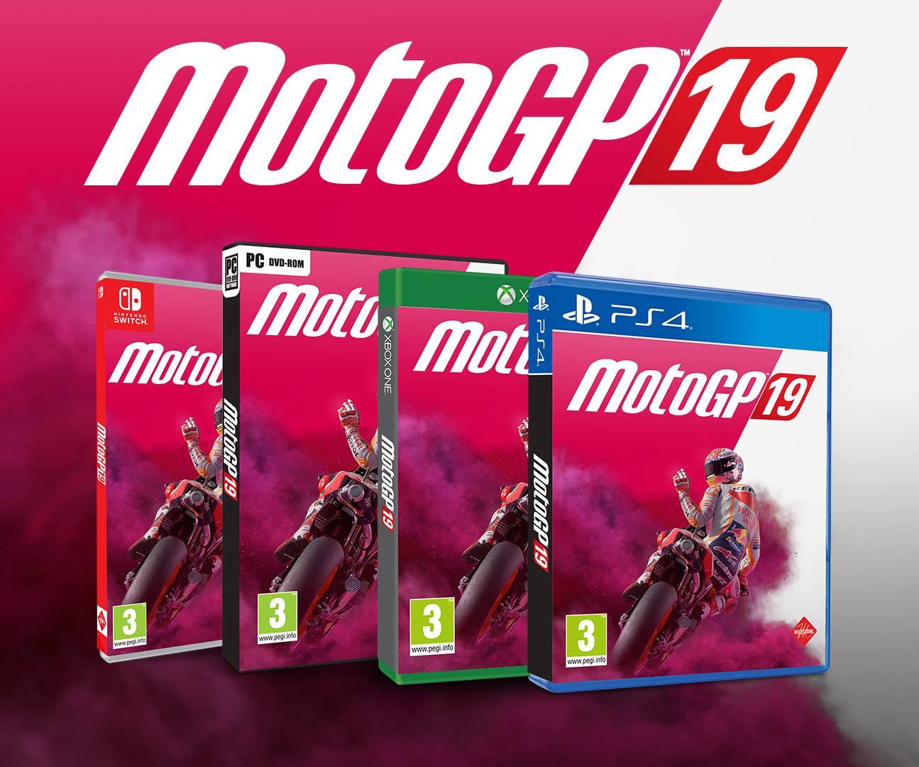 MotoGp 19 cover - THQ Nordic acquisisce il team italiano Milestone