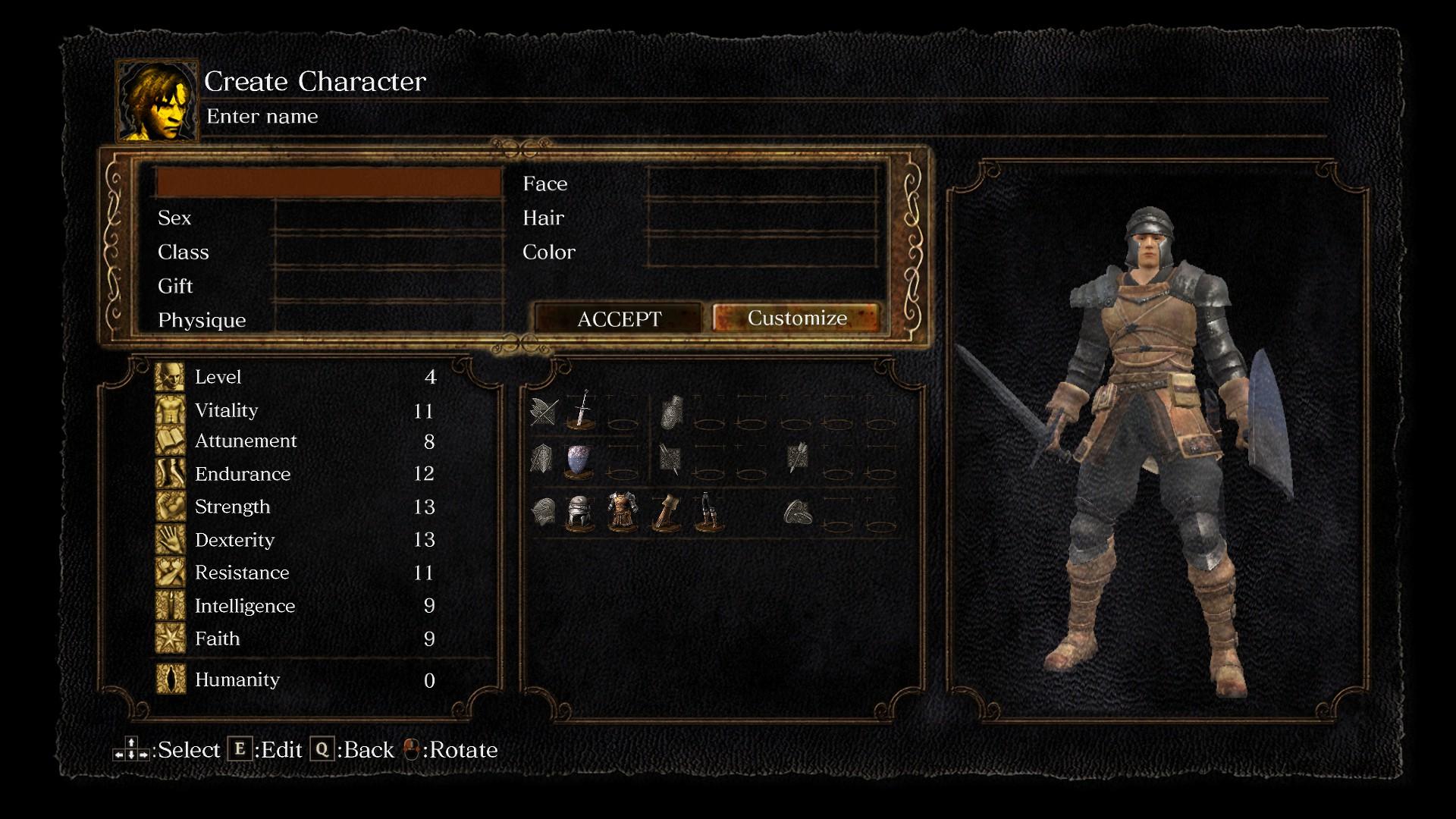 dark souls remastered character creator - Vivere dentro il videogioco