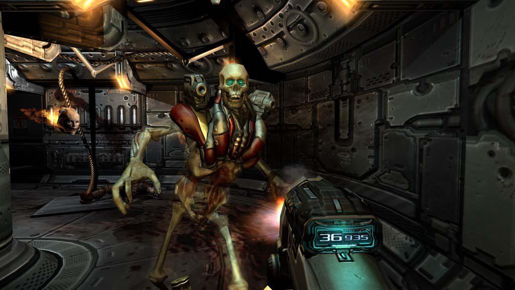 doom 3 doom trilogy gameplay 1024x576 - Doom Trilogy - recensione di una serie senza tempo