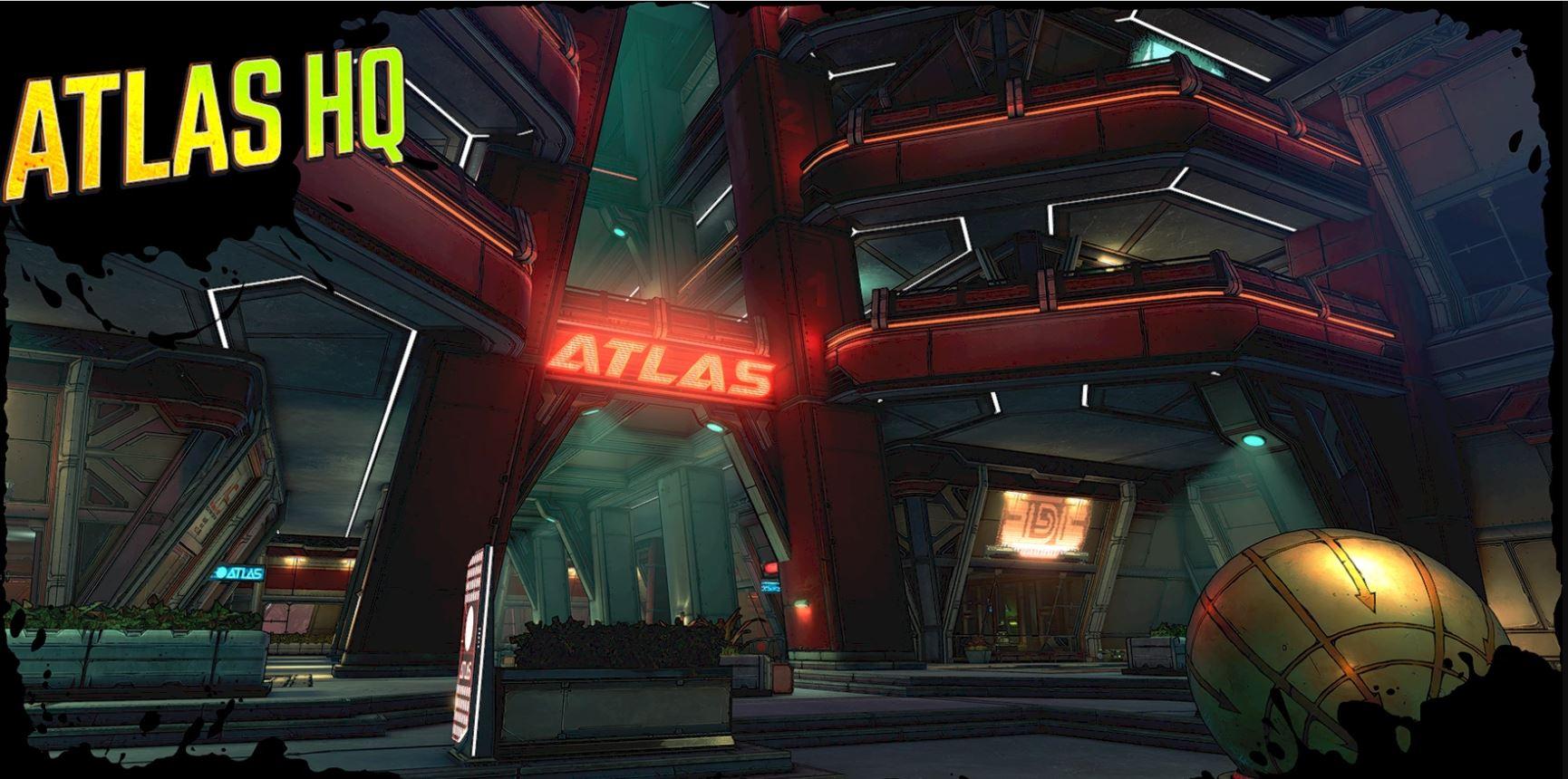 Borderlands 3 Atlas HQ
