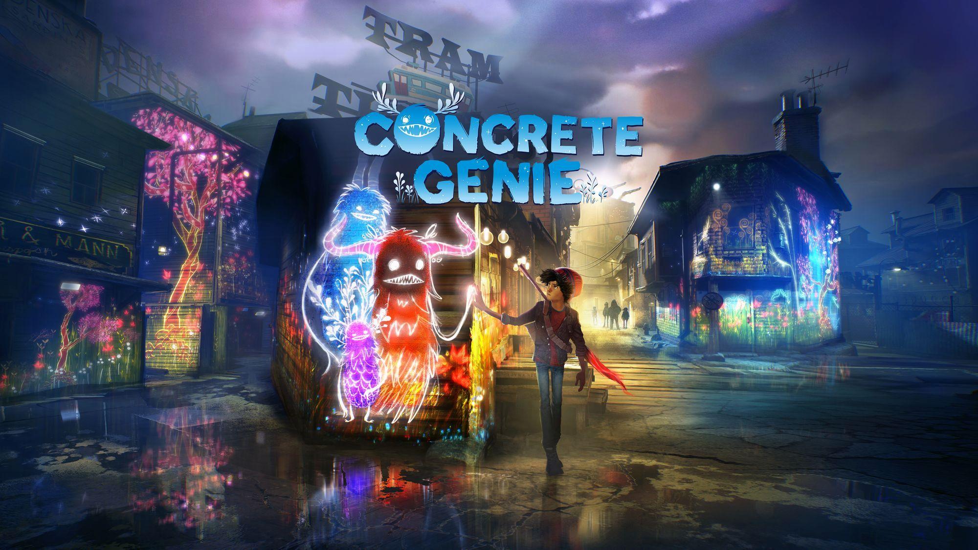 Concrete Genie Copertina