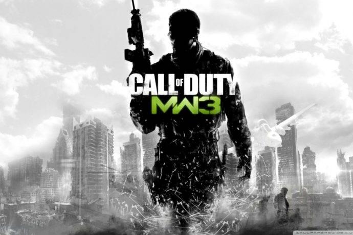 Modern Warfare 3 Cover