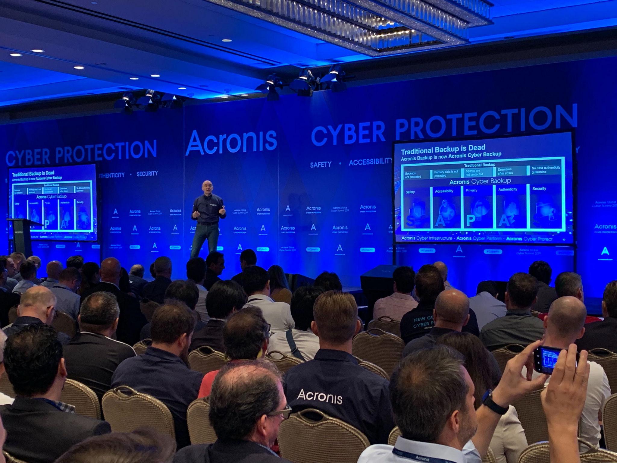 SB Acronis Cyber Summit - Acronis presenta le soluzioni di protezione informatica Cyber Protect, Cyber Platform e Cyber Infrasctructure