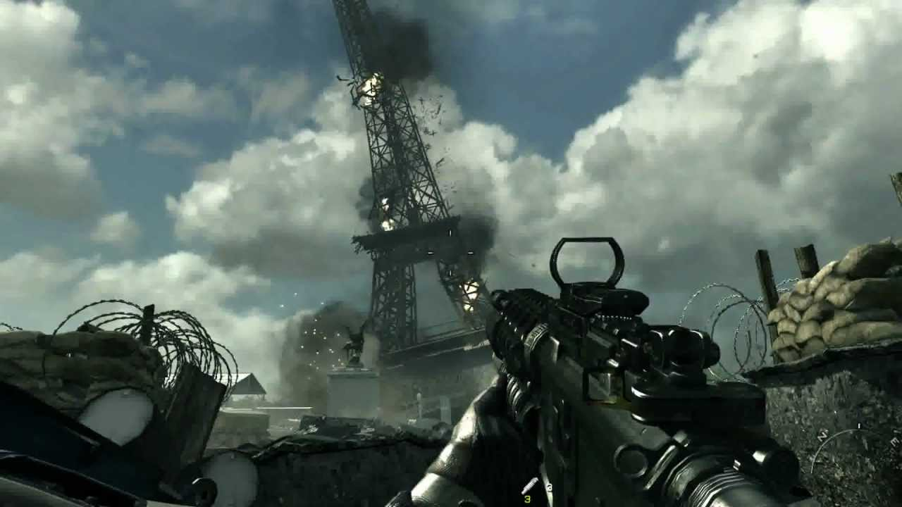 TourEiffel - Back 2 the past - la storia di Call of Duty: Modern Warfare 3