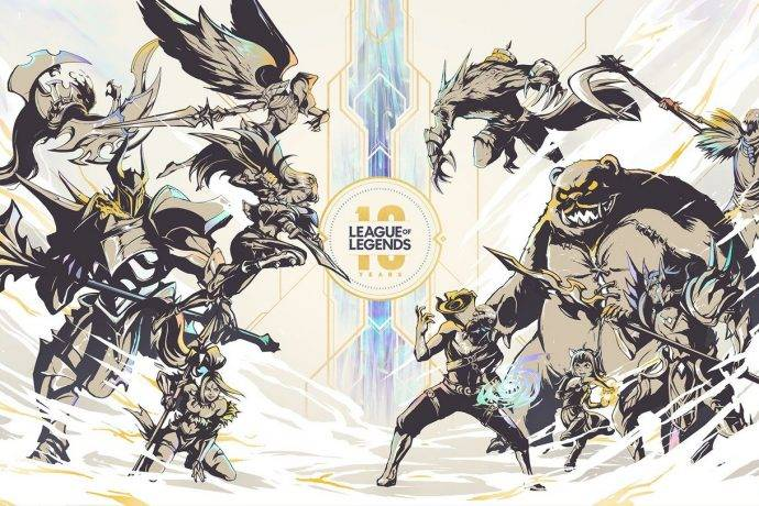 League of Legends 10th anniversary Riot Games