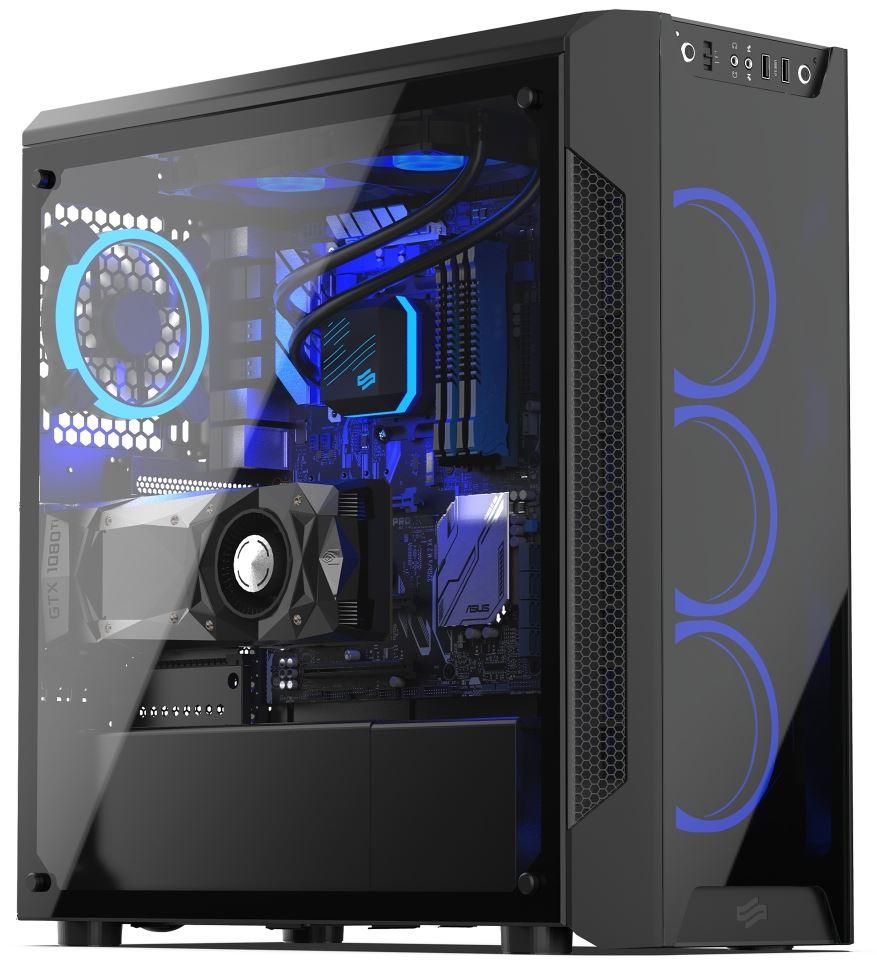 ArmisAR7X TG RGB 2 - Recensionecase SilentiumPC ArmisAR7X TG RGB