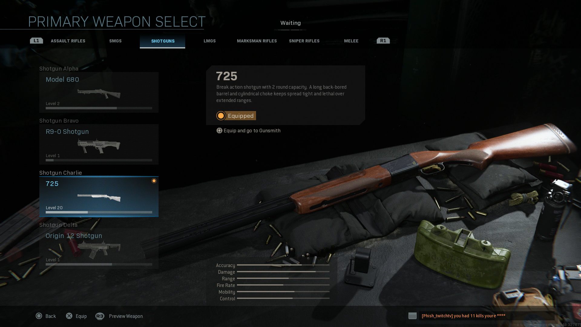 Top image 725 - Patch per Call of Duty: Modern Warfare - bilanciamento delle armi