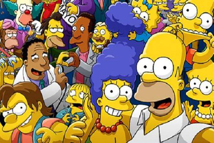 Simpson Selfie
