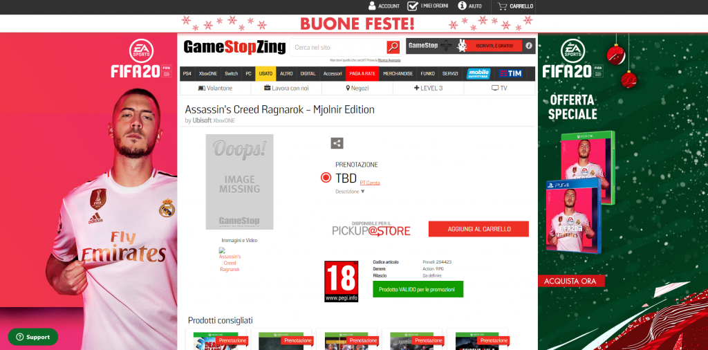 ACR 1024x506 - Assassin's Creed Ragnarok spunta sul sito di Gamestop Italia