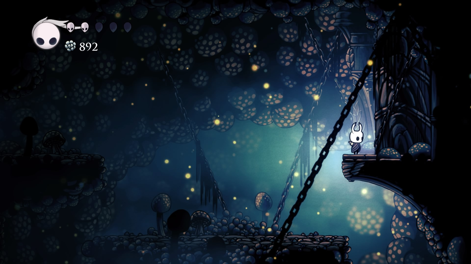 Hollow Knight Caverne Fungine