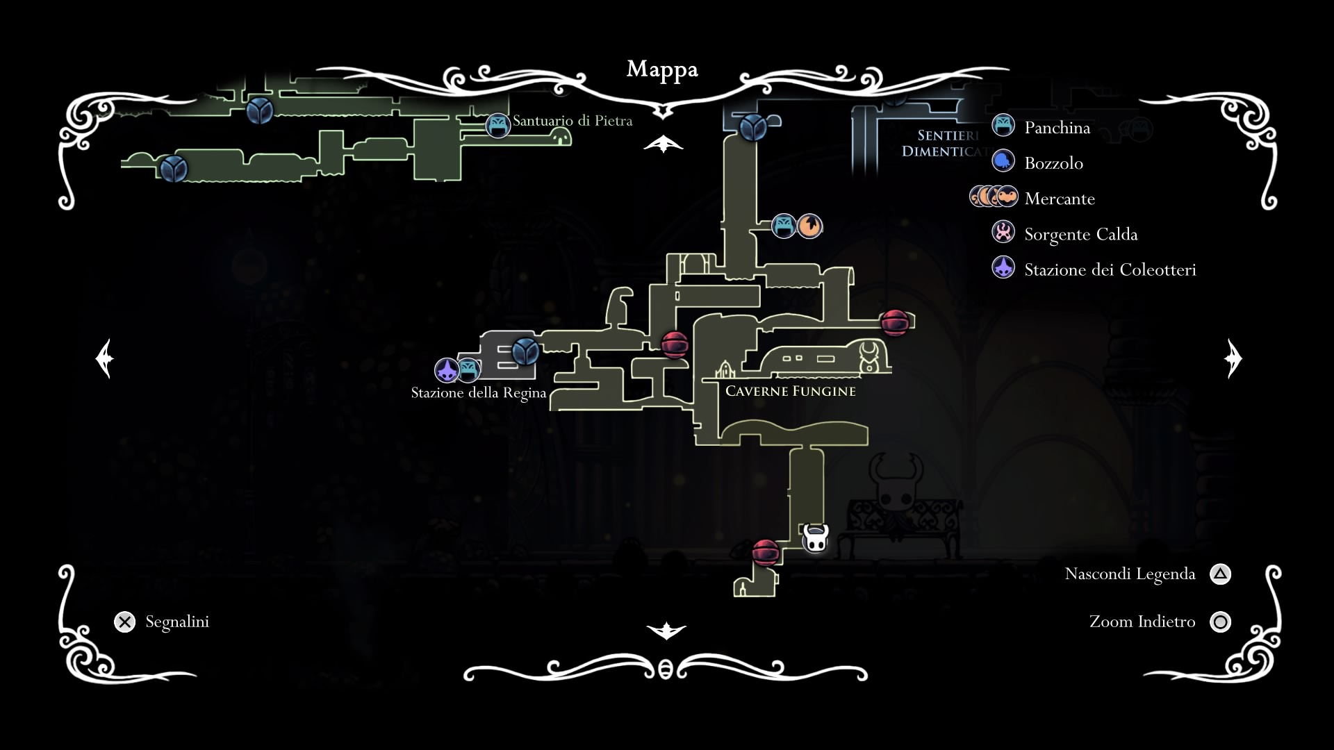 Hollow Knight Villaggio delle Mantidi