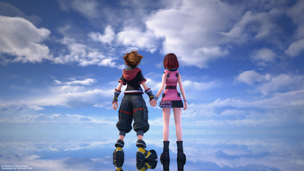 Kingdom Hearts III Re:Mind Sora e Kairi