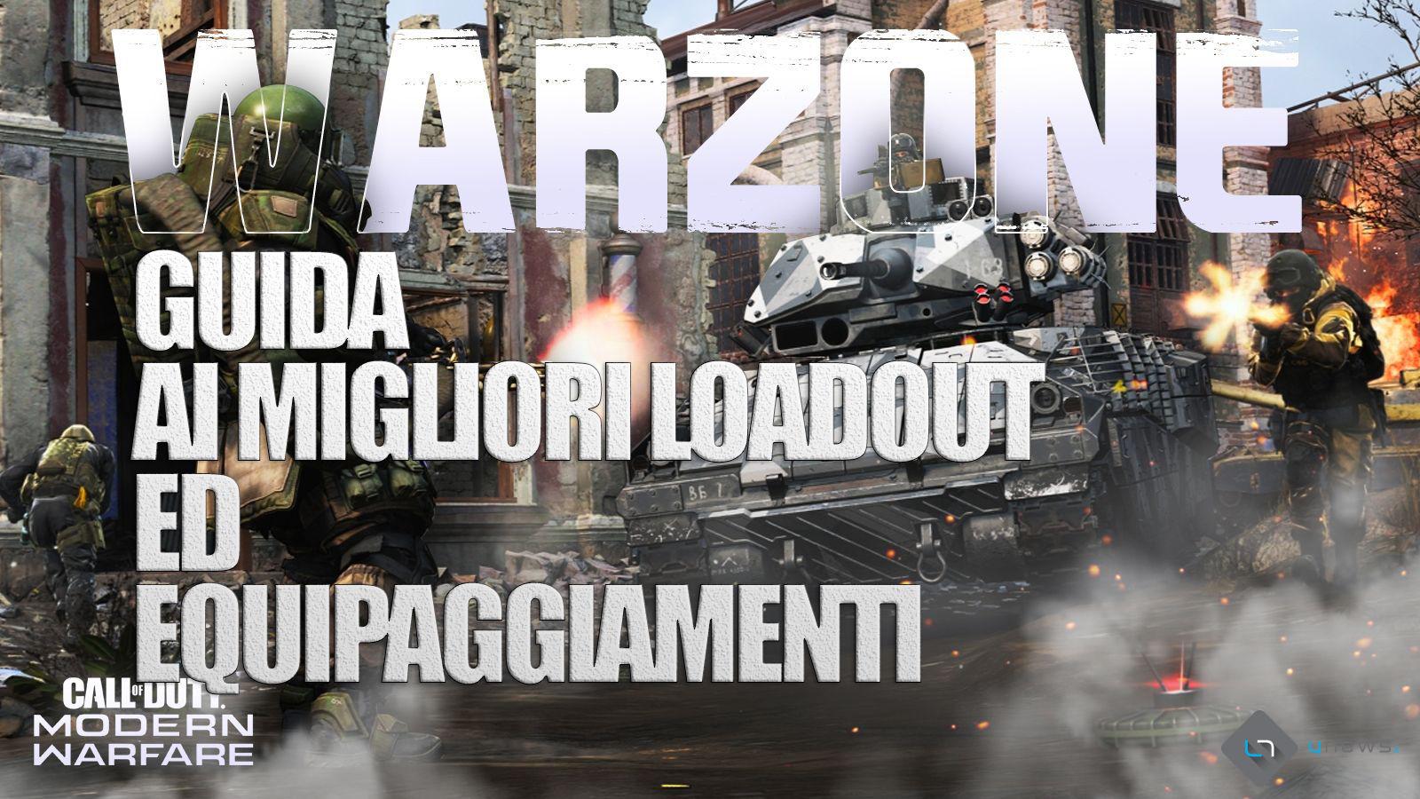 Cod warzone loadout