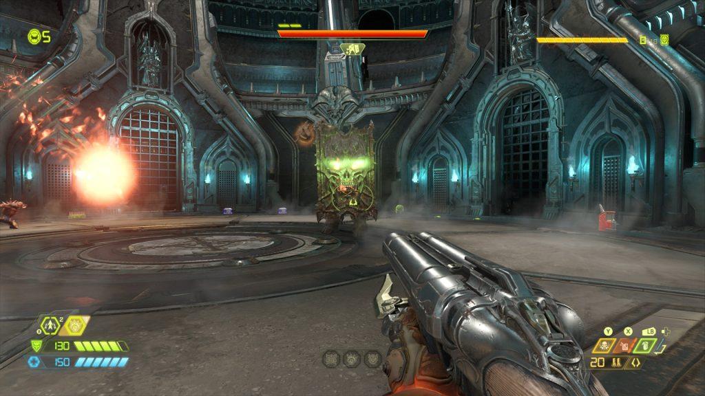 Doom Eternal Gladiator  1024x576 - DOOM Eternal - Guida: 5 consigli per affrontare al meglio i combattimenti più difficili