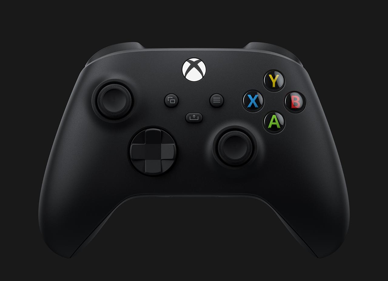 Xbox2020 Cntlr Frnt MKT 1x1 RGB - Microsoft ha svelato l'hardware di Xbox Series X