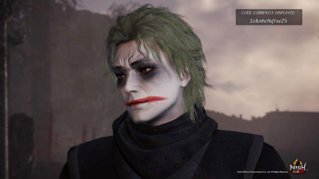 nioh 2 guida personaggi joker - Nioh 2 Guida - Lista codici creazione personaggio