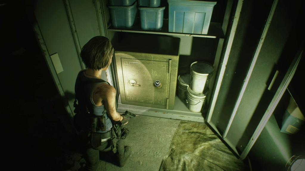 Resident Evil 3 Demo Cassaforte