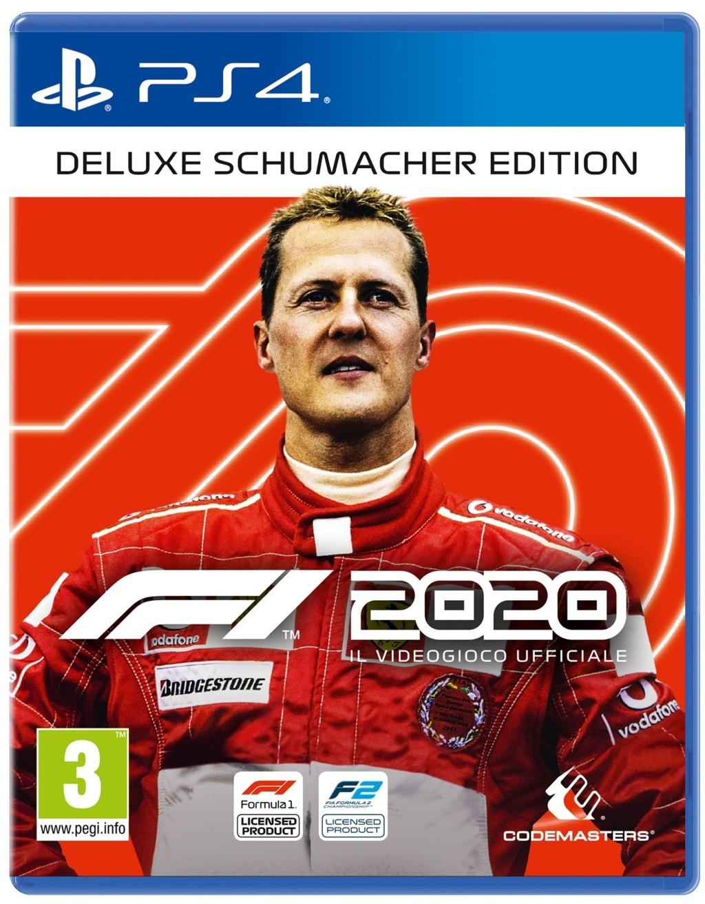 F12020 P4 Deluxe PACK 2D ITA - F1 2020, disponibile la Schumacher Edition