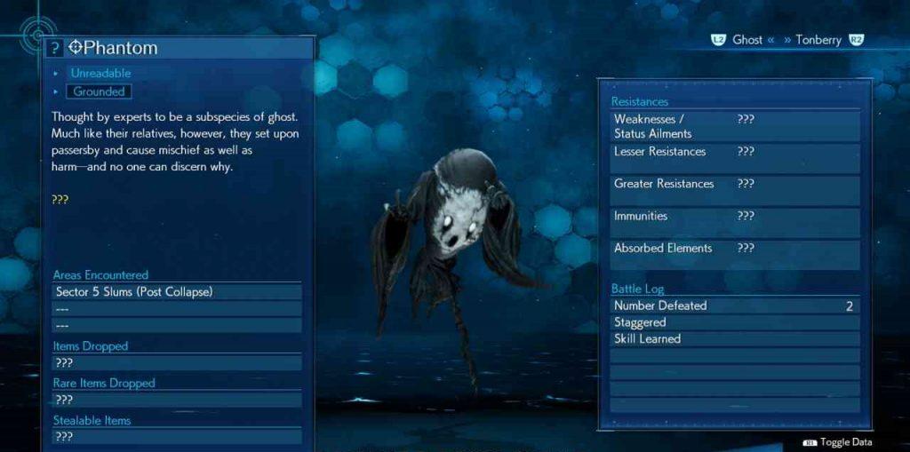 final fantasy vii remake enemy skill spirit syphon phantom 1 1024x509 - Final Fantasy VII Remake - Guida alle tecniche nemiche