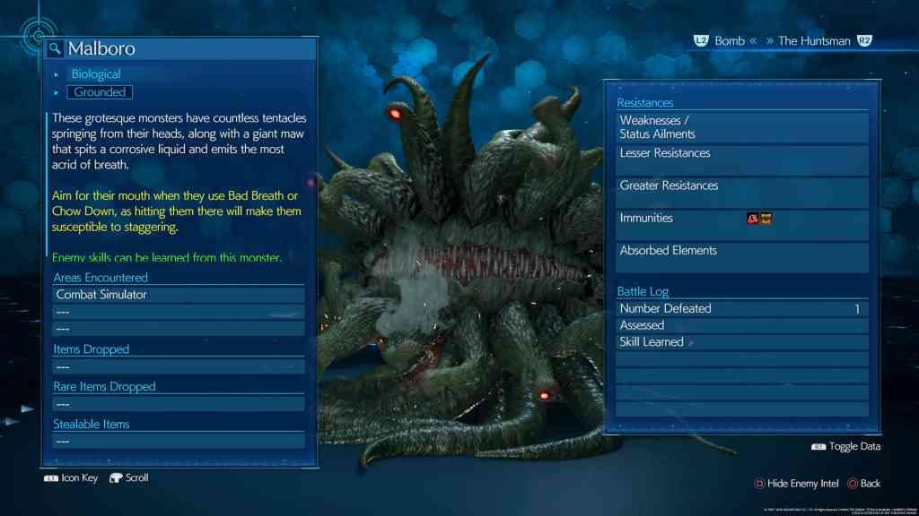 final fantasy vii remake malboro - Final Fantasy VII Remake - Guida alle tecniche nemiche