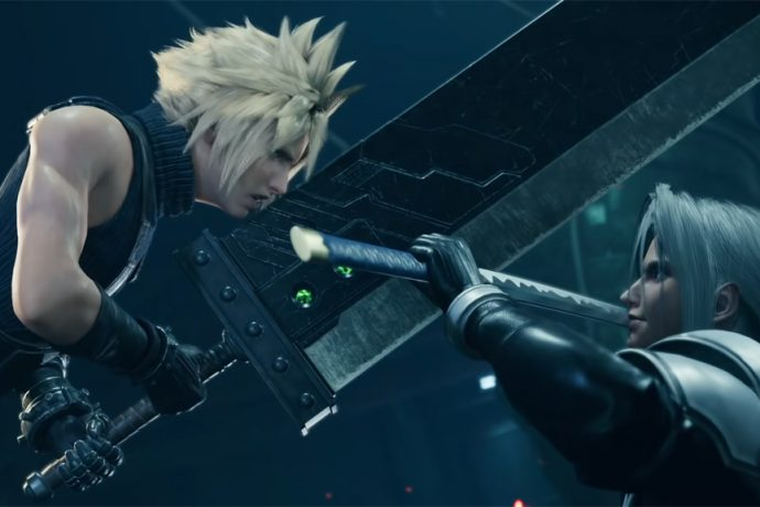 Final Fantasy VII Remake Cloud vs Sephirot