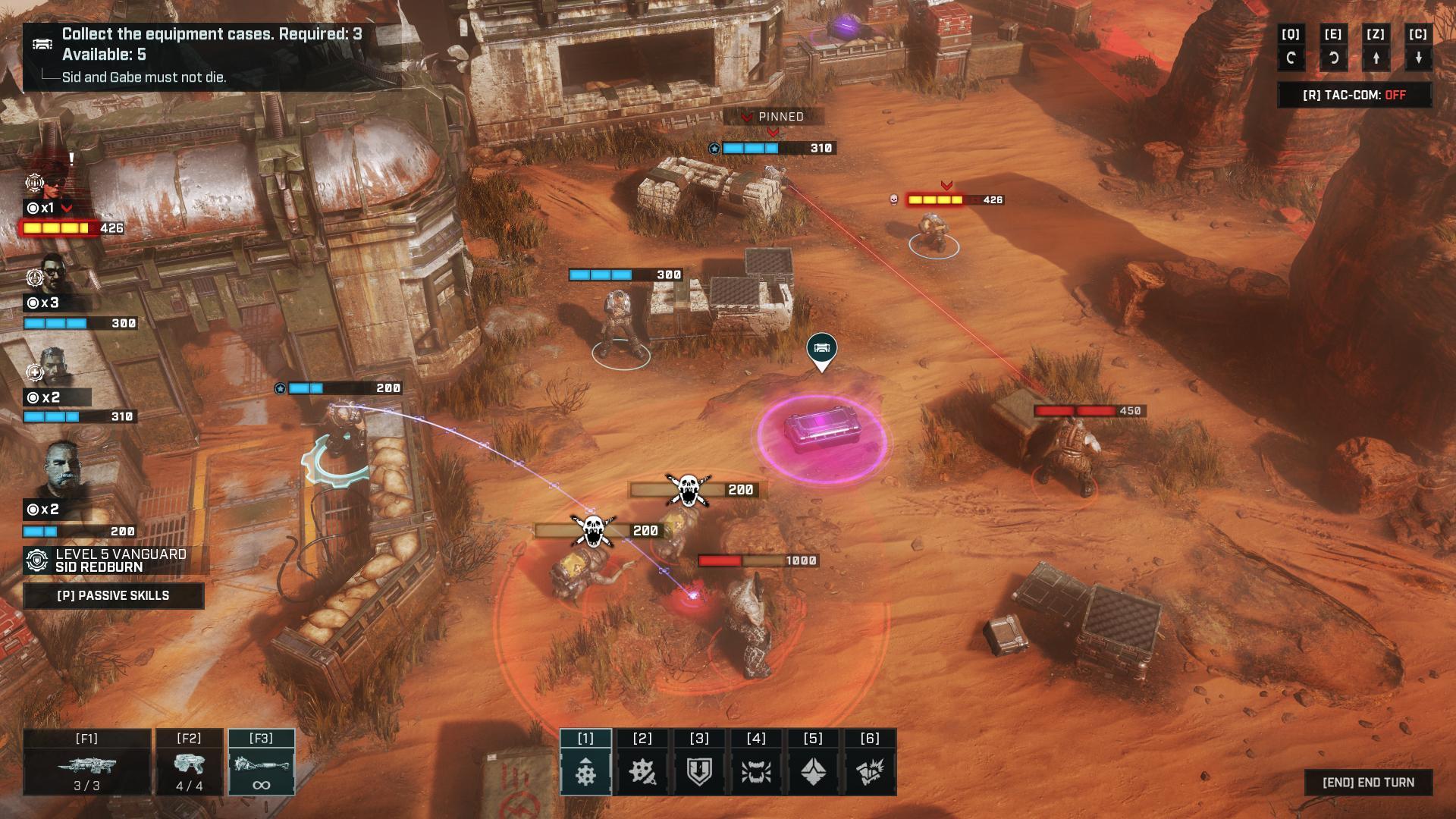 gears tactics img 3 - Recensione Gears Tactics