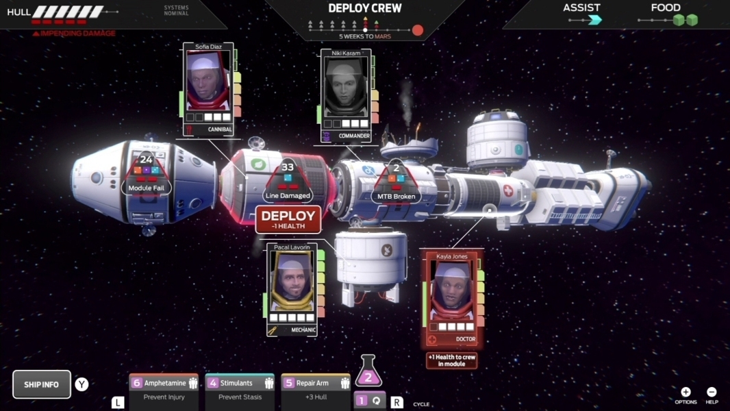 tharsis screen 2 - Recensione Tharsis per Nintendo Switch
